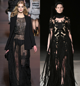 OFF THE RUNWAY: GLAM IN BLACK