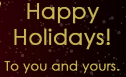 FROM US, TO YOU!