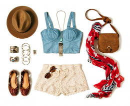 FESTIVAL WEAR: CROCHET TWO WAYS