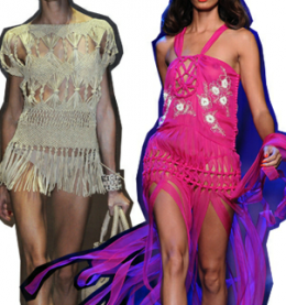 OFF THE RUNWAY: MACRAME MAIDEN