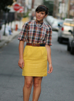 STREET STYLE SPOTLIGHT: HOLD THE MUSTARD