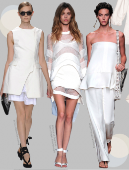 And We Will Go To Mykonos Dressed White…