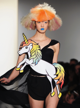 FASHION WEEK 2012: GRAPHIC NOVELTY