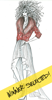 FASHION SKETCH GIVEAWAY!