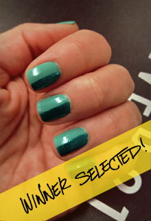 FOREVER 21 INSTAGRAM NAIL ART CHALLENGE: GREEN ENVY