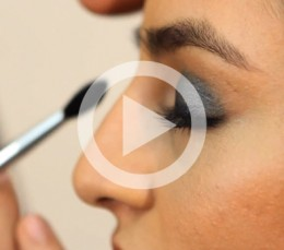 FOREVER 21 CLOSE-UP: A NAVY, SMOKEY EYE!