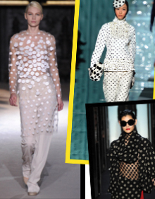 OFF THE RUNWAY: FOLLOW THE DOTTED LINE…