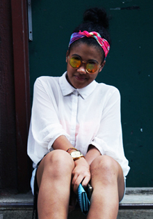 STREET STYLE SNAPS: SOHO STEPPER