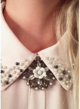 Bling Out with Embellished Collars