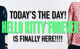 Hello Kitty Forever Countdown: Today's the day!