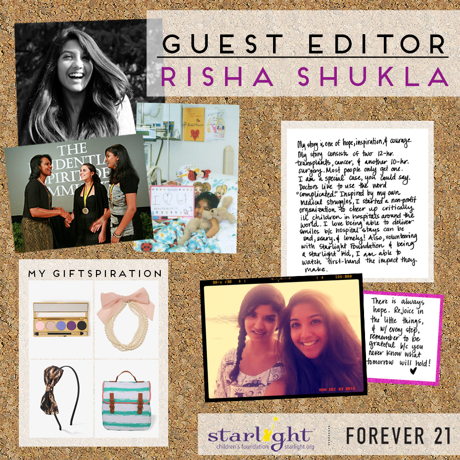 Starlight Foundation- Risha