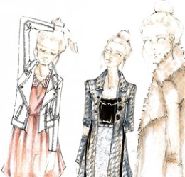 Inside the Sketchbook: Holiday 2012 Dress Collection (Part 2)