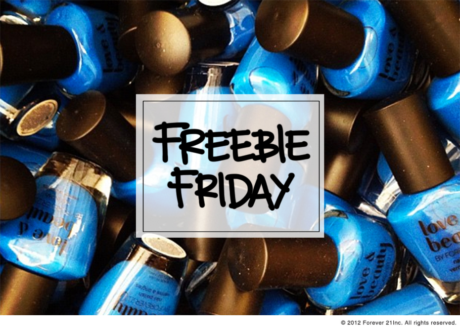 Freebie Friday Post