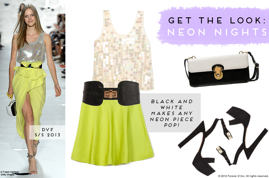 Get the Look- Neon Nights