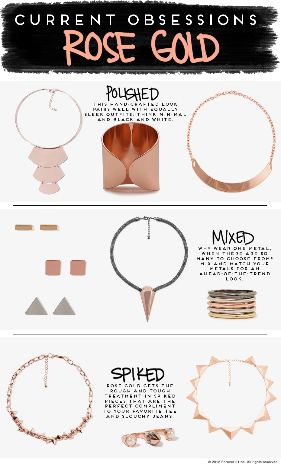 Current Obsessions- Rose Gold