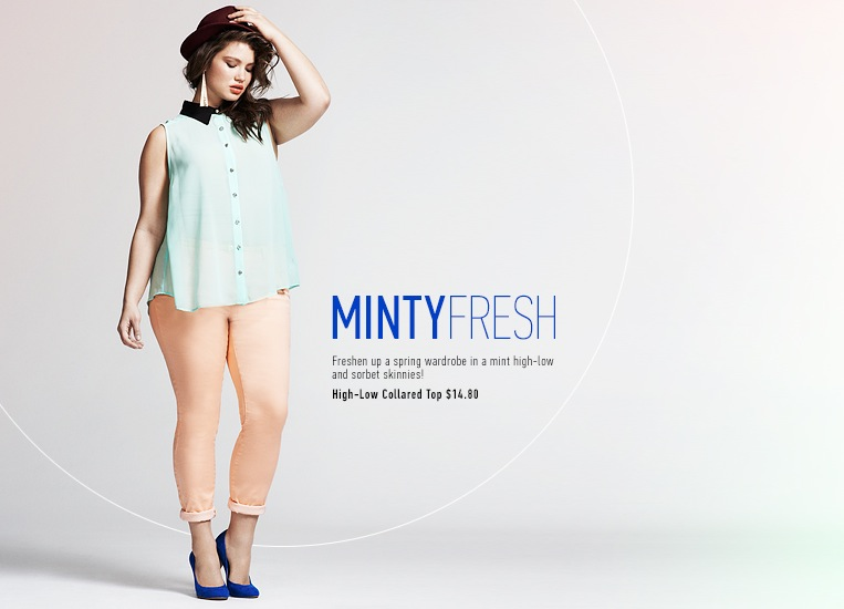 Plus Size Fashion Trends Spring 2013 F21 plus-pastels-2
