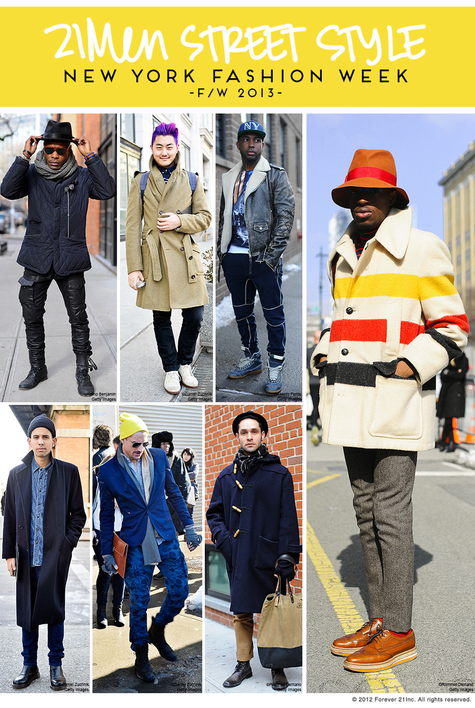 Men's Street Style Fall 2013 Roundup