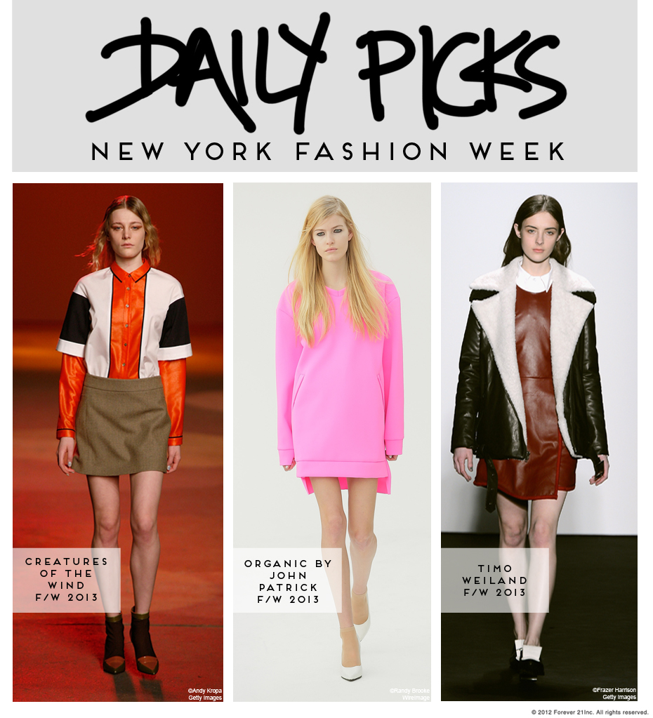 NYFW Daily Picks-Friday