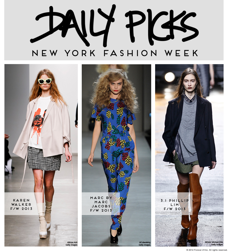 NYFW Daily Picks- Tuesday