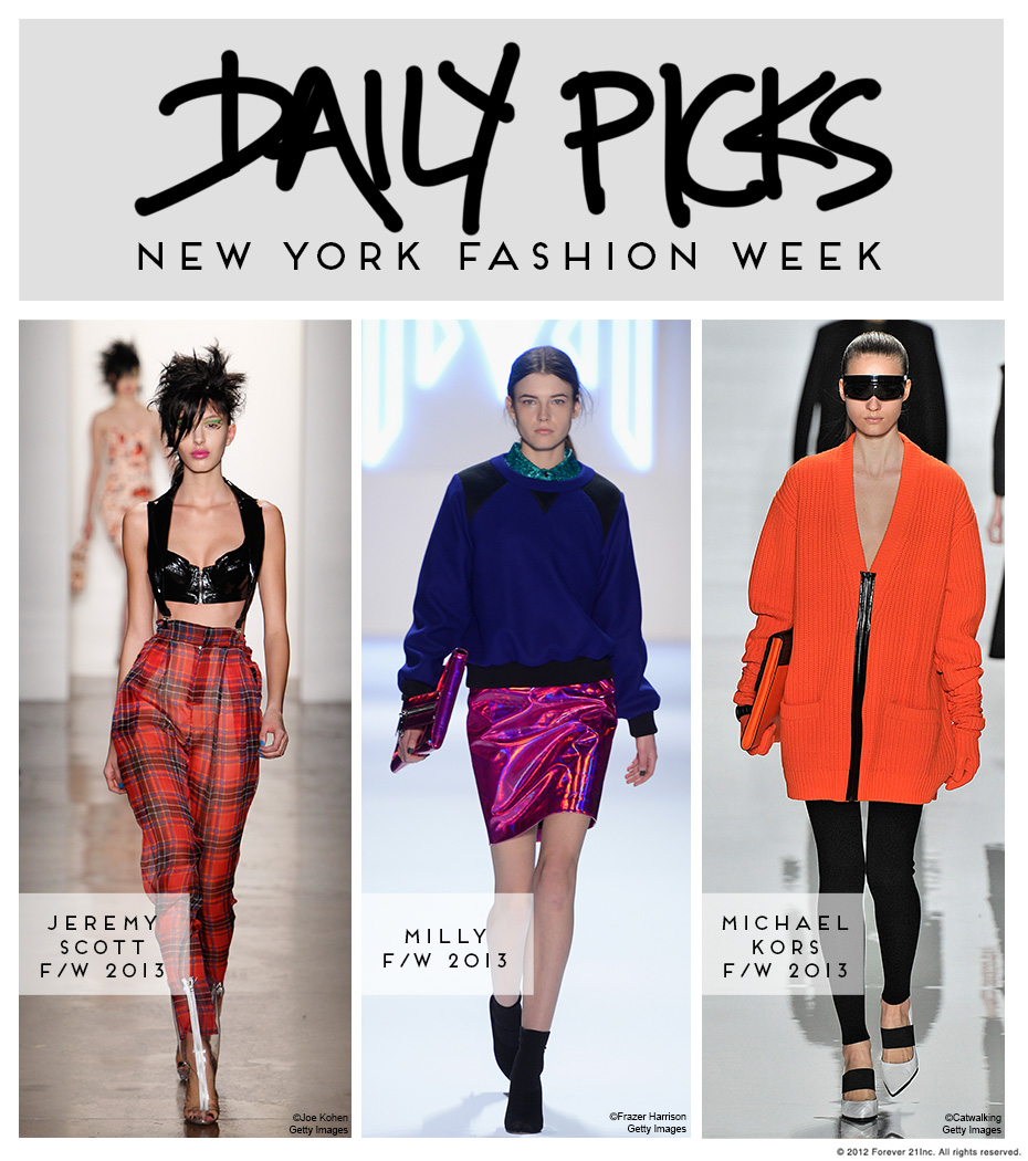 NYFW Feb 13 Picks