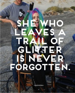 Words of Wisdom: Glitter Nation
