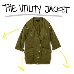 1 Piece, 3 Ways: Utility Jacket