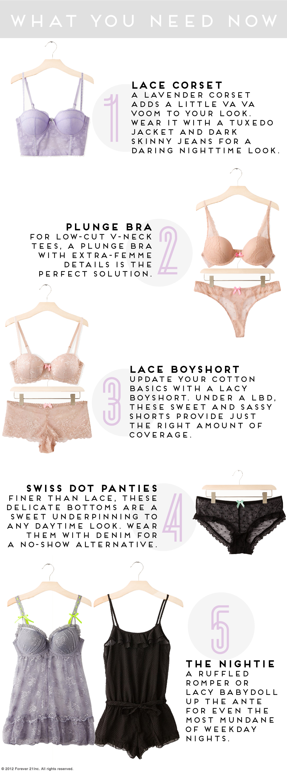 Valentine's Day Lingerie- What you need now