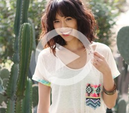The DIY Files: Hint of Print Pocket Tee