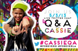 YOU'RE INVITED: RSVP TO THIS FRIDAY'S LIVE TWITTER CHAT WITH CASSIE