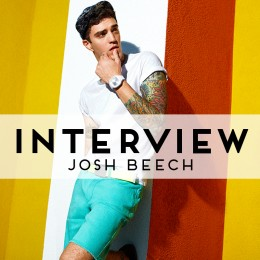 Gab Sesh: 7 Questions with Model Josh Beech