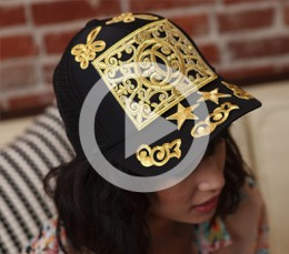 Watch: The DIY Files: EmBossed Cap