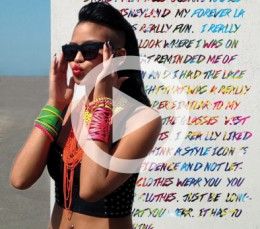 Watch: Cassie x Forever LA for Summer 2013