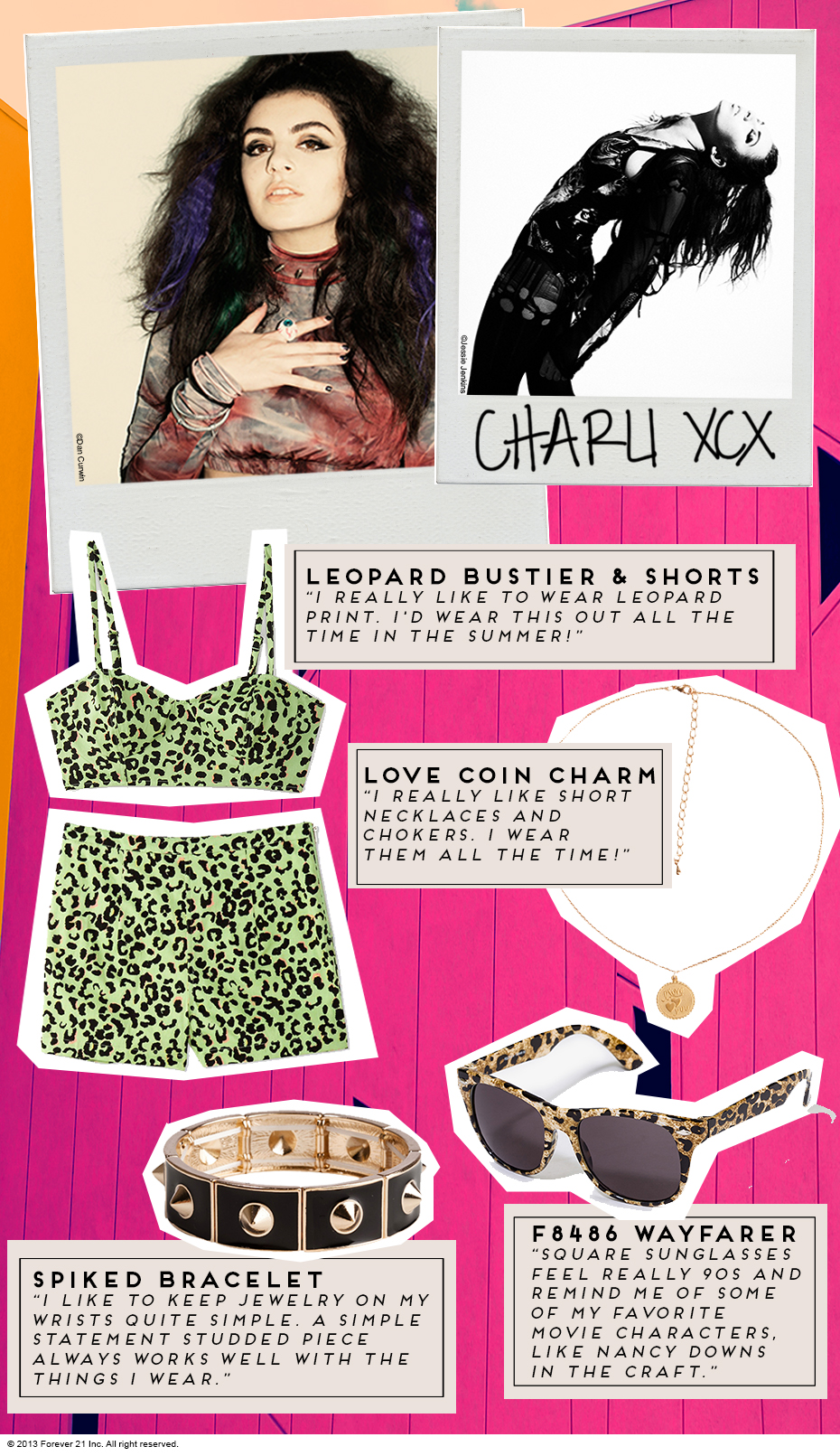 Inside the Wardrobe: Charli XCX's Top 4 Hits