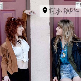 WALKING IN LA: Lindsey Troy + Julie Edwards of DEAP VALLY
