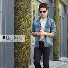 WALKING IN LA: JORDAN SILVER OF THE ZOE REPORT