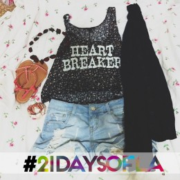 21 Days of LA: Day 1 – Cutoff Shorts