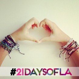 21 Days of LA: Day 2 – Arm Party