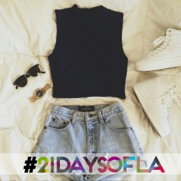 21 Days of LA: Day 8 – Crop Top