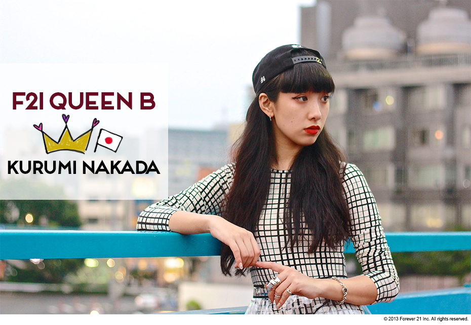 Fashion / F21 Queen B: 10 Questions with Kurumi Nakada